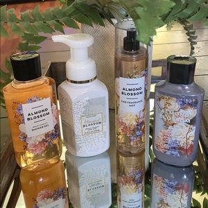 NEW BBW 4 PC ALMOND BLOSSOM BUNDLE
